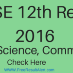 CBSE 12th Result 2016 School Wise  Arts, Science, Commerce