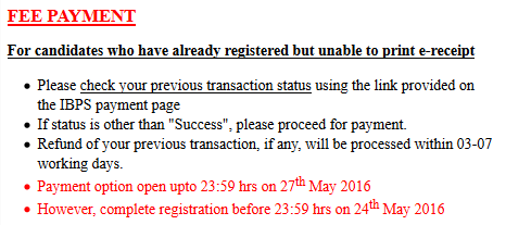 SBI po previous important dates