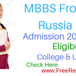 Russia MBBS Admission 2016 & Fee , Eligibility College & University List
