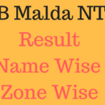 RRB Malda NTPC Result 2016 Name Wise & Cut off Marks @ rrbmalda.gov.in