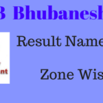 RRB NTPC Bhubaneshwar Result Name Wise 2016 at rrbbbs.gov.in