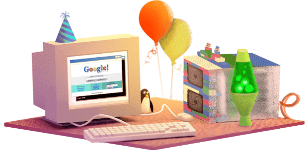 Google 17th Birthday Date 27 September 2015