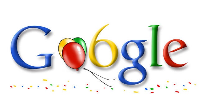 Google 6th Birthday September 7, 2004