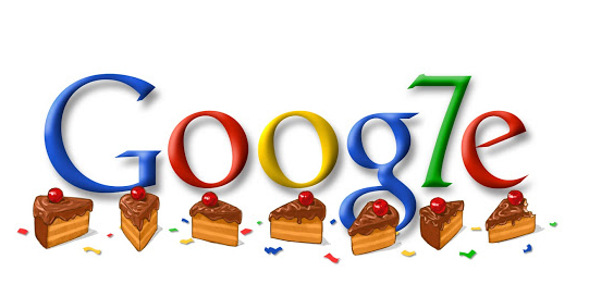 Google 7th Birthday Date 27 September 2005
