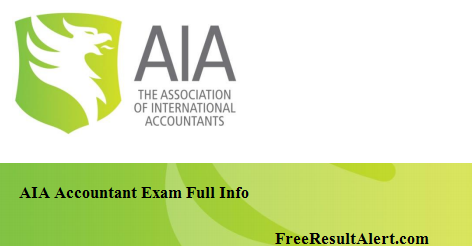 AIA Accountant Result 2019