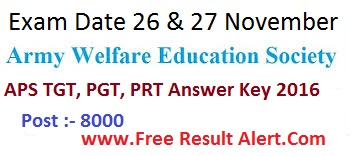 aps answer key 2016