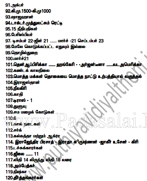 TNTET 2017 Answer Key