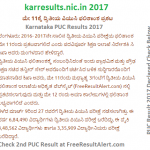 karresults.nic.in 2017