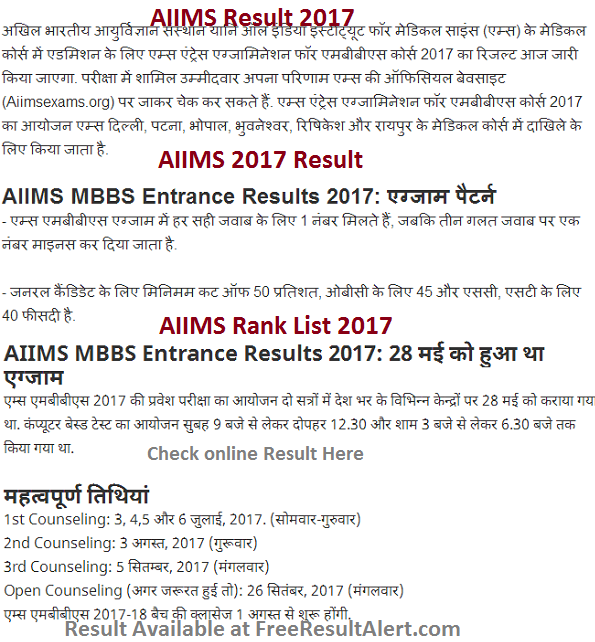aiims-result-2017 Online Form Aiims on income tax, pennsylvania state tax,