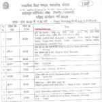 MP Board 10th Time Table 2018