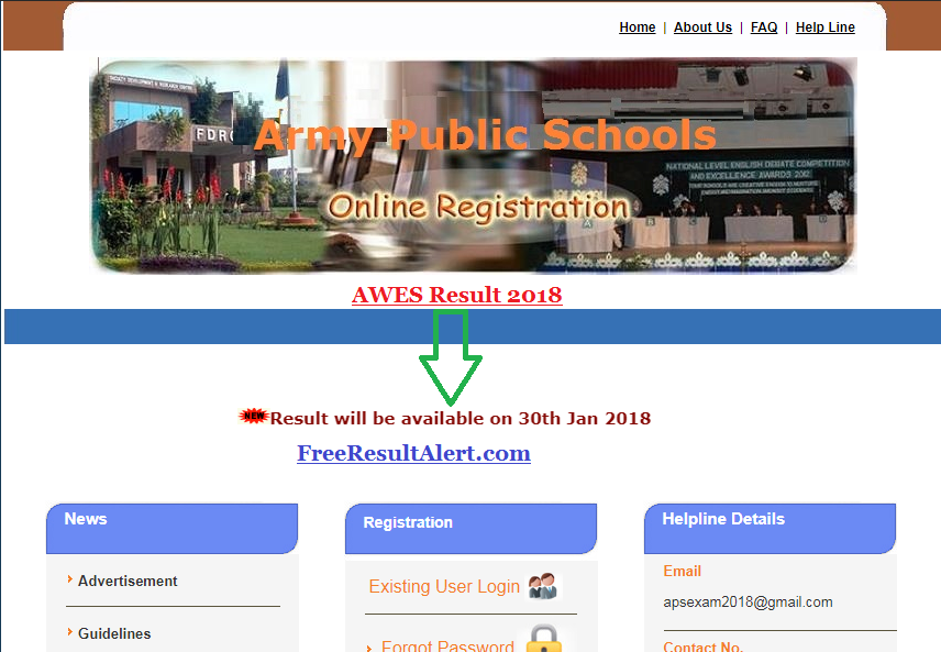AWES Result 2018