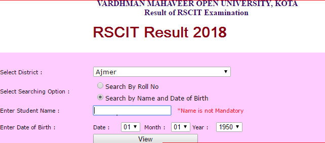 result date 2018