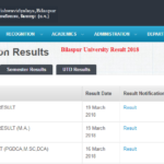Bilaspur University Result 2018