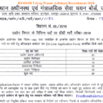 RSMSSB Udyog Prasar Adhikari Recruitment 2019