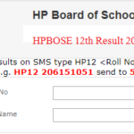 HPBOSE 12th Result 2019