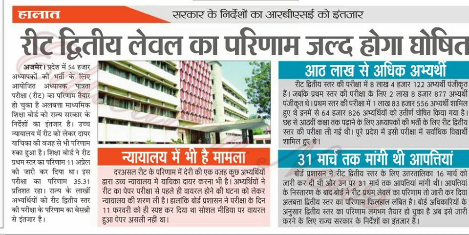reet selection process for sc