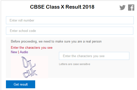cbse class 10 result 2018 name wise
