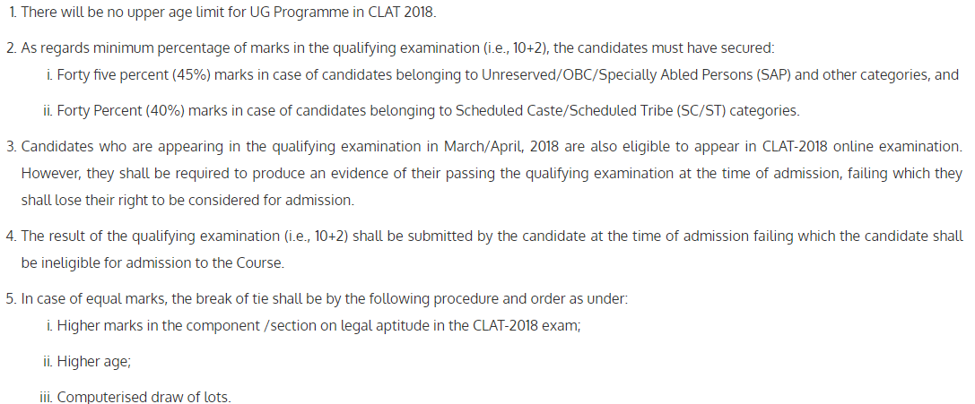 CLAT Answer Key 2018 Download