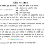 Jharkhand Police Admit Card 2019