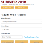 RTMNU BA 2nd Year Result 2018