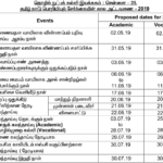 TNEA 1st Round Seat Allotment 2019 Counselling Order List