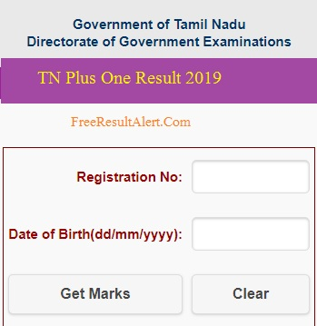 www.tnresults.nic.in 2019