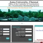 Anna University 6th Sem Result 2018