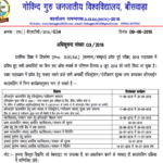 BSTC Counselling Result 2018