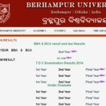 Berhampur University BA Final Year Result 2018