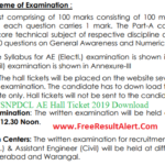 TSNPDCL AE Hall TIcket