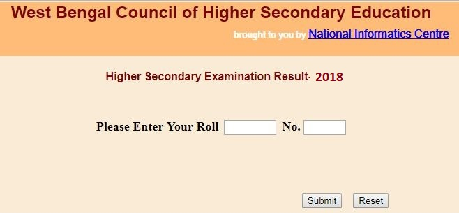 WB HS Result 2018 Name Wise