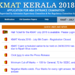 KMAT Answer Key 2018