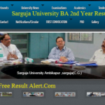 Sarguja University BA 2nd Year Result 2018