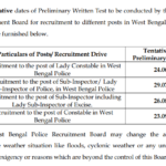 West Bengal Police Lady SI Answer Key 2018