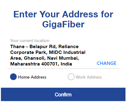 Jio Giga Fiber Registration Online Booking