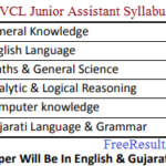 UGVCL Junior Assistant Syllabus 2018