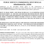 WBPSC Fire Operator Syllabus 2018