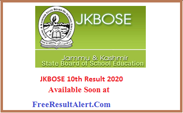 JKBOSE 10th Result 2020