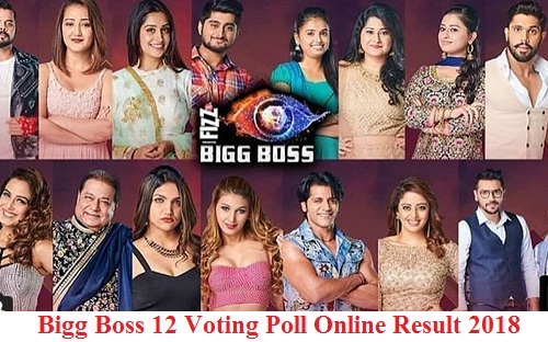 Bigg Boss 12 Voting Poll Online Result 2018