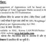 HAL Trade Apprentice Admit Card 2018