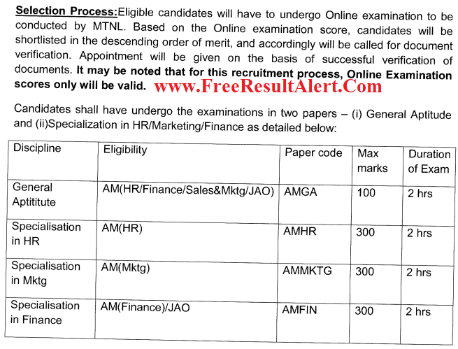 MTNL Assistant Manager Answer Key 2018