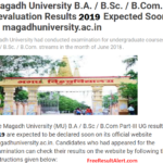 Magadh University Revaluation Result 2019