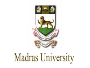 Madras University Results 2019 UG & PG 1st, 3rd & 5th Semester Exam