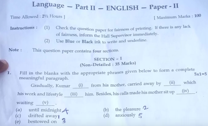 10th Public English 2 Answer Key 2019