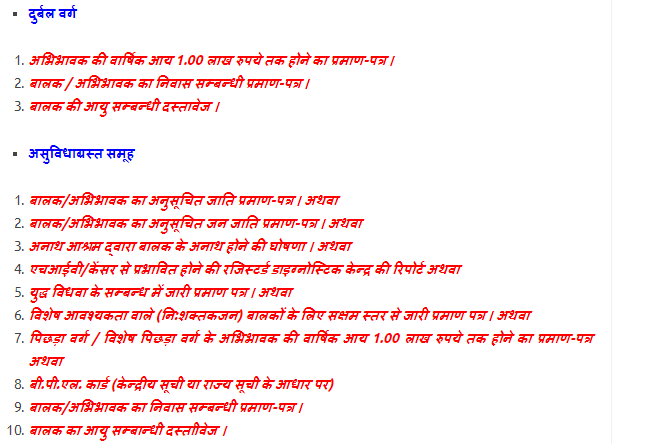 RTE Rajasthan Lottery Result 2019