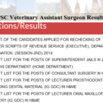 JKPSC Veterinary Assistant Surgeon Result 2019