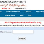 ANU Degree Revaluation Results 2019