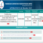 APTRANSCO AE Results 2019