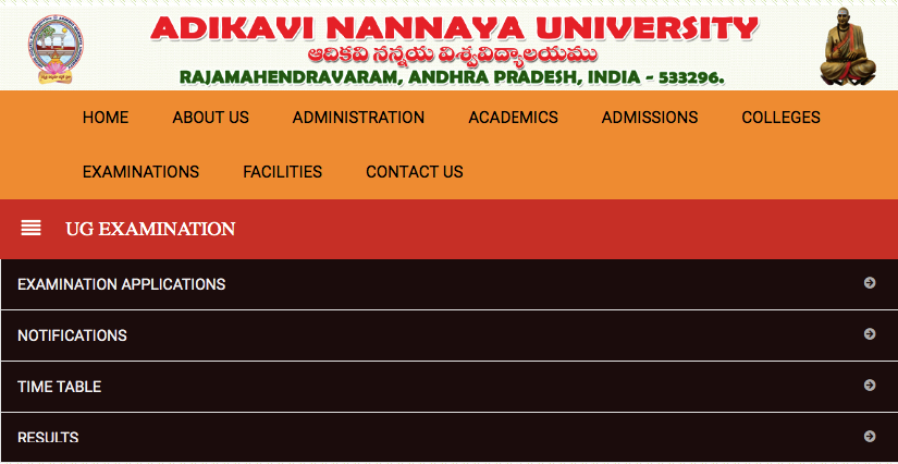 AKNU Degree Results 2019