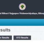 Bilaspur University BA 2nd Year Result 2019